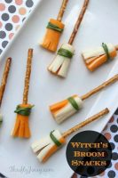 Witch Broom Snack