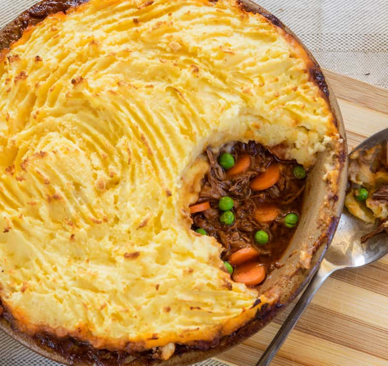This Cottage Pie Recipe is the ultimate in comfort food! Get the recipe and five different ways you can make it here.