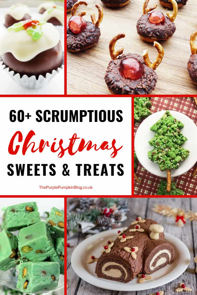 Christmas is a time to eat, drink and be merry, and there are 60+ Scrumptious Christmas Sweets + Treats to help you on your way! With delicious truffles, fudge, candies, and more! There are also a selection of gluten-free, dairy-free, sugar-free, vegan, paleo, keto, and low-carb recipes so there really is something for everyone to enjoy!