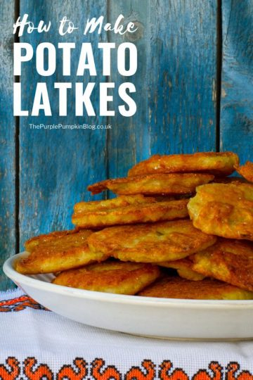How to make Potato Latkes for Hanukkah. A traditional food enjoyed during Chanukkah - the Jewish Festival of Lights