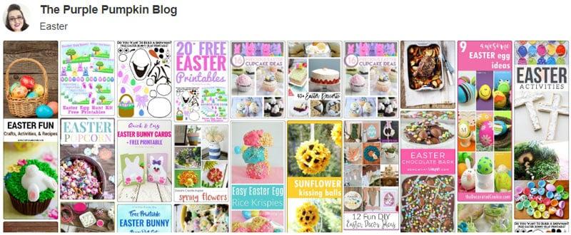 Easter Board on Pinterest