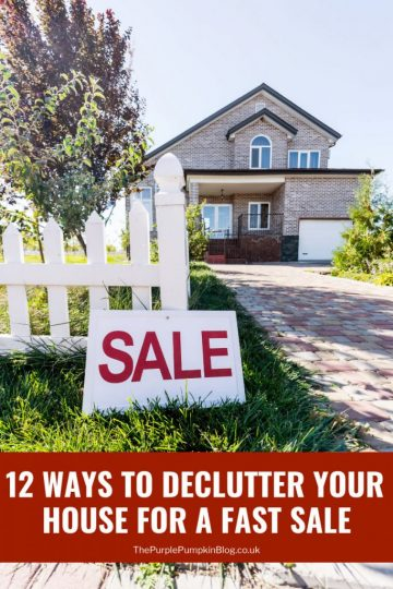 12 Ways To Declutter Your House For A Fast Sale