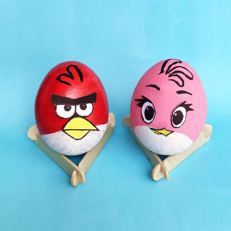 Angry Birds Easter Eggs - Red + Stella