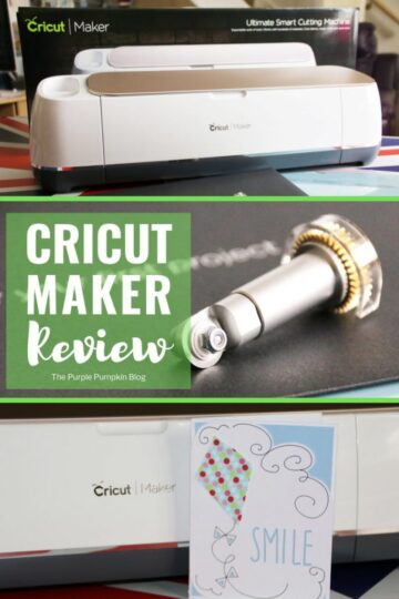 The Cricut Maker is the latest, and ultimate smart cutting machine from the Cricut family of machines. With new blades, and more pressure, you can cut materials from the most delicate of tissue papers, to fabrics, to leather and wood. If you are a crafter, or DIY-er read why the Cricut Maker is a must have for all of your projects. #ad #CricutMaker #Cricut #CricutMachine #ThePurplePumpkinBlog
