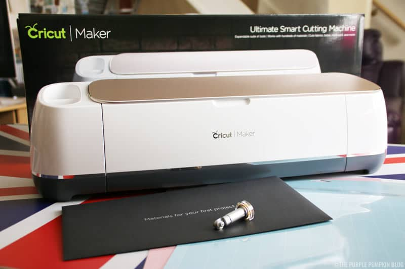 Cricut Maker out of the box