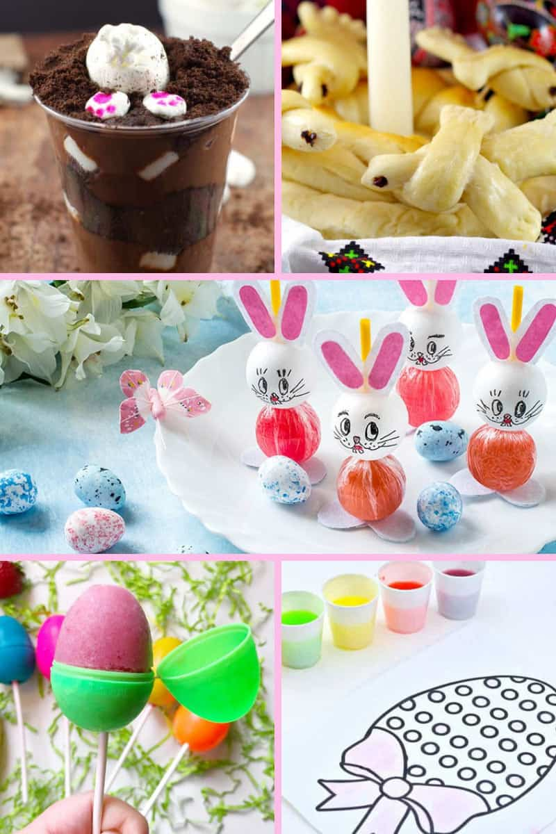 28 awesome Easter activities and crafts for kids! The kids won't say they're bored with this list of fun things to make and do!