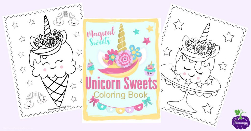 - Super Sweet Unicorn Coloring Pages - Free Printable Colouring Book