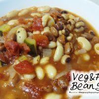 Veg & Five Bean Soup