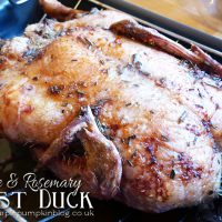 Orange & Rosemary Roast Duck
