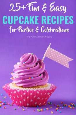 25+ Fun & Easy Cupcakes Recipes for Parties & Celebrations