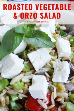 Roasted Vegetable Orzo Salad