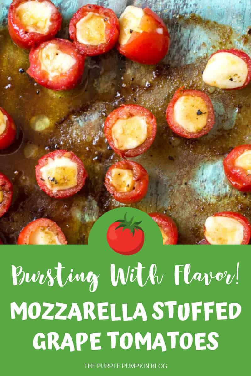 Balsamic Mozzerella Cheese Stuffed Tomatoes