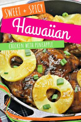Sweet and Spicy Hawaiian Chicken with Pineapple