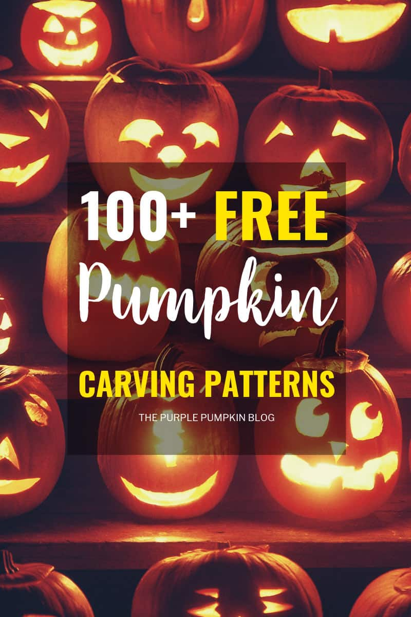 100 Awesome Free Pumpkin Carving Patterns For Halloween