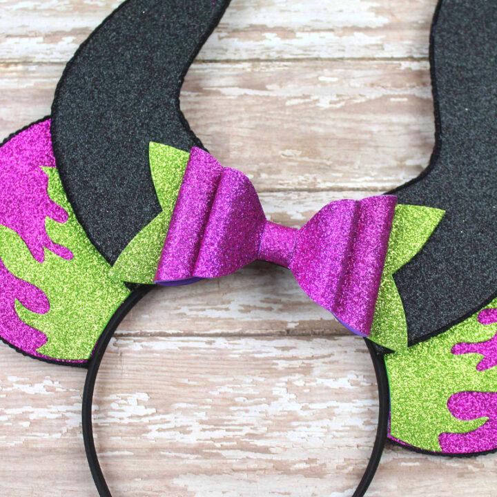Maleficent Ears Tutorial