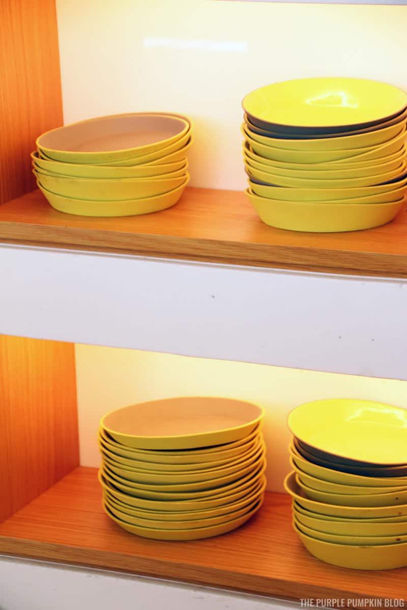 Plates at California Grill