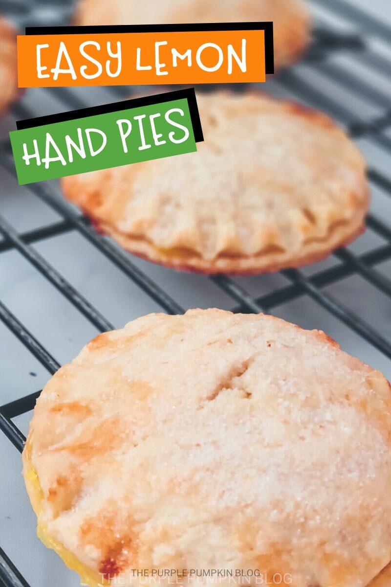 Easy Lemon Hand Pies