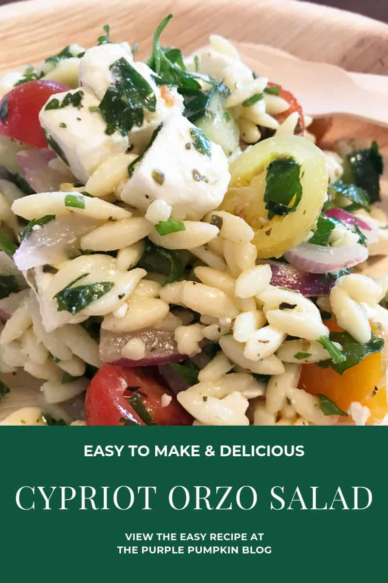 Easy to Make & Delicious Cypriot Orzo Salad