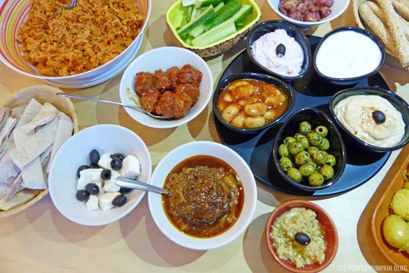 Greek Cypriot Meze Dishes