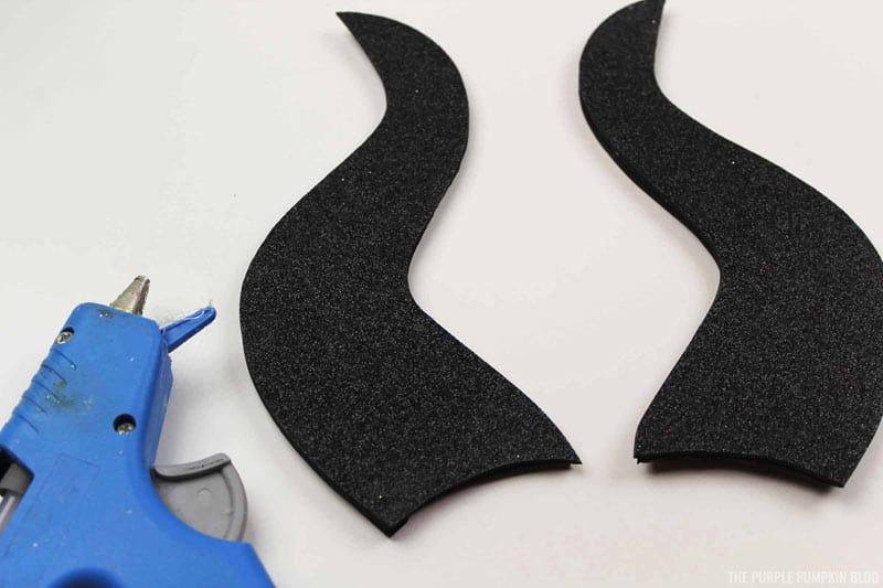 Assembled Maleficent Horns