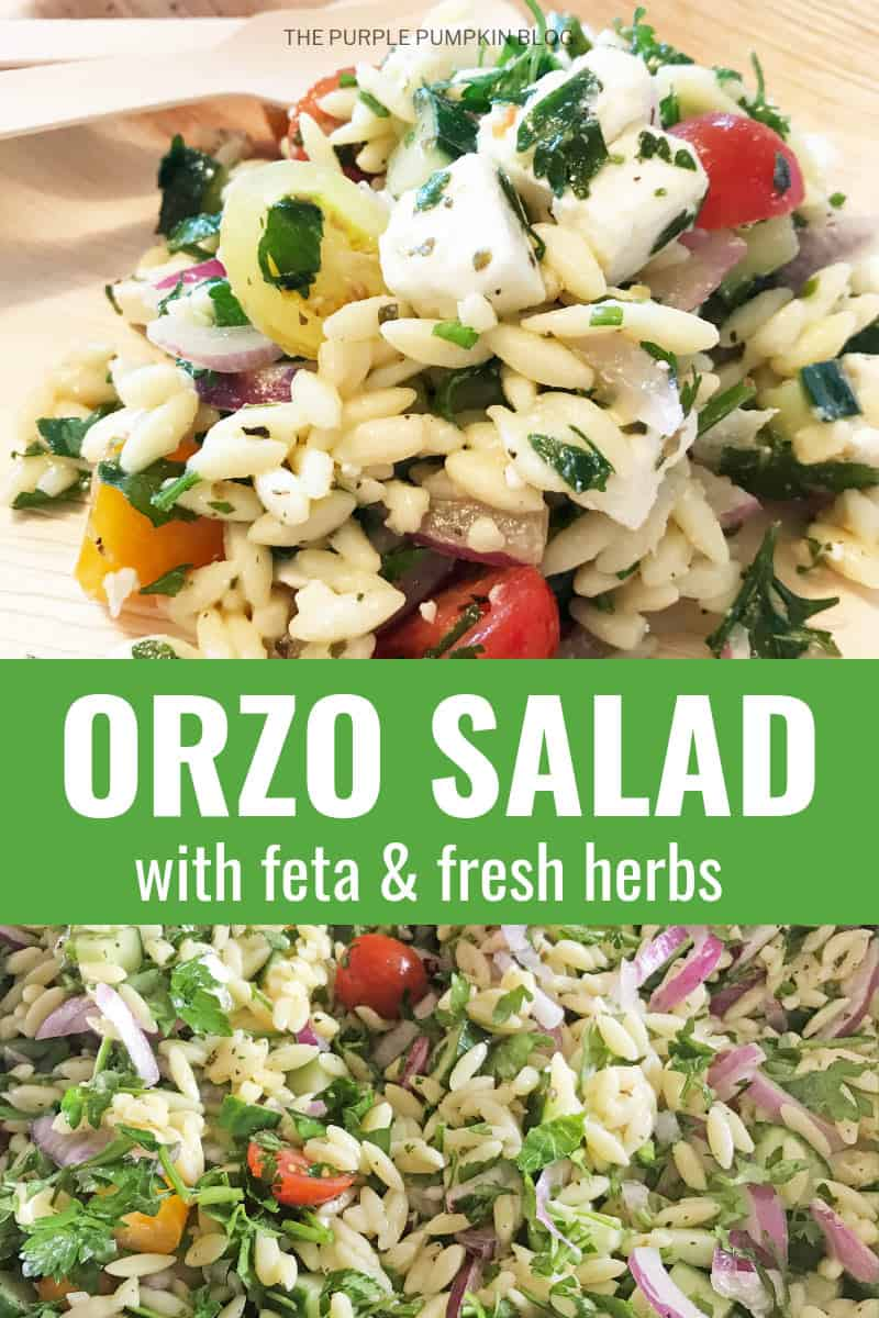 Orzo Salad with Feta & Fresh Herbs