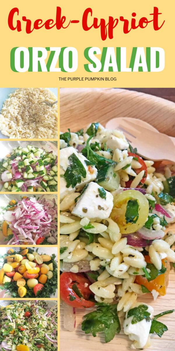 Greek Cypriot Orzo Salad
