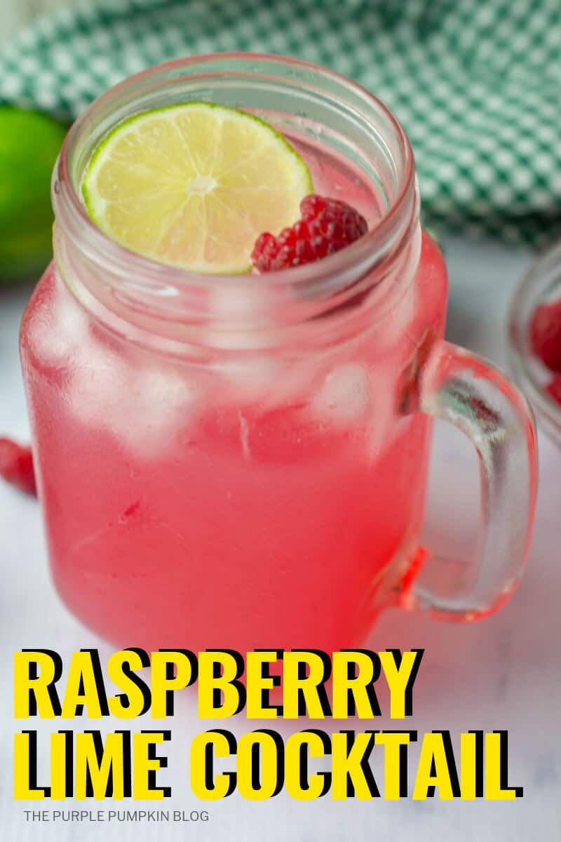 Raspberry Lime Cocktail