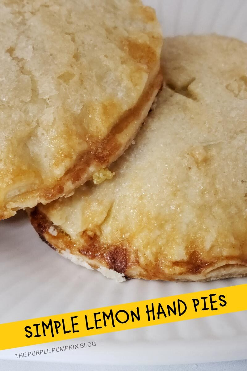 Simple Lemon Hand Pies