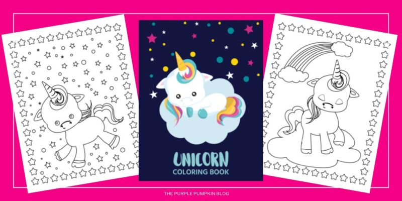 Free Printable Unicorn Coloring Book Unicorn Colouring Pages