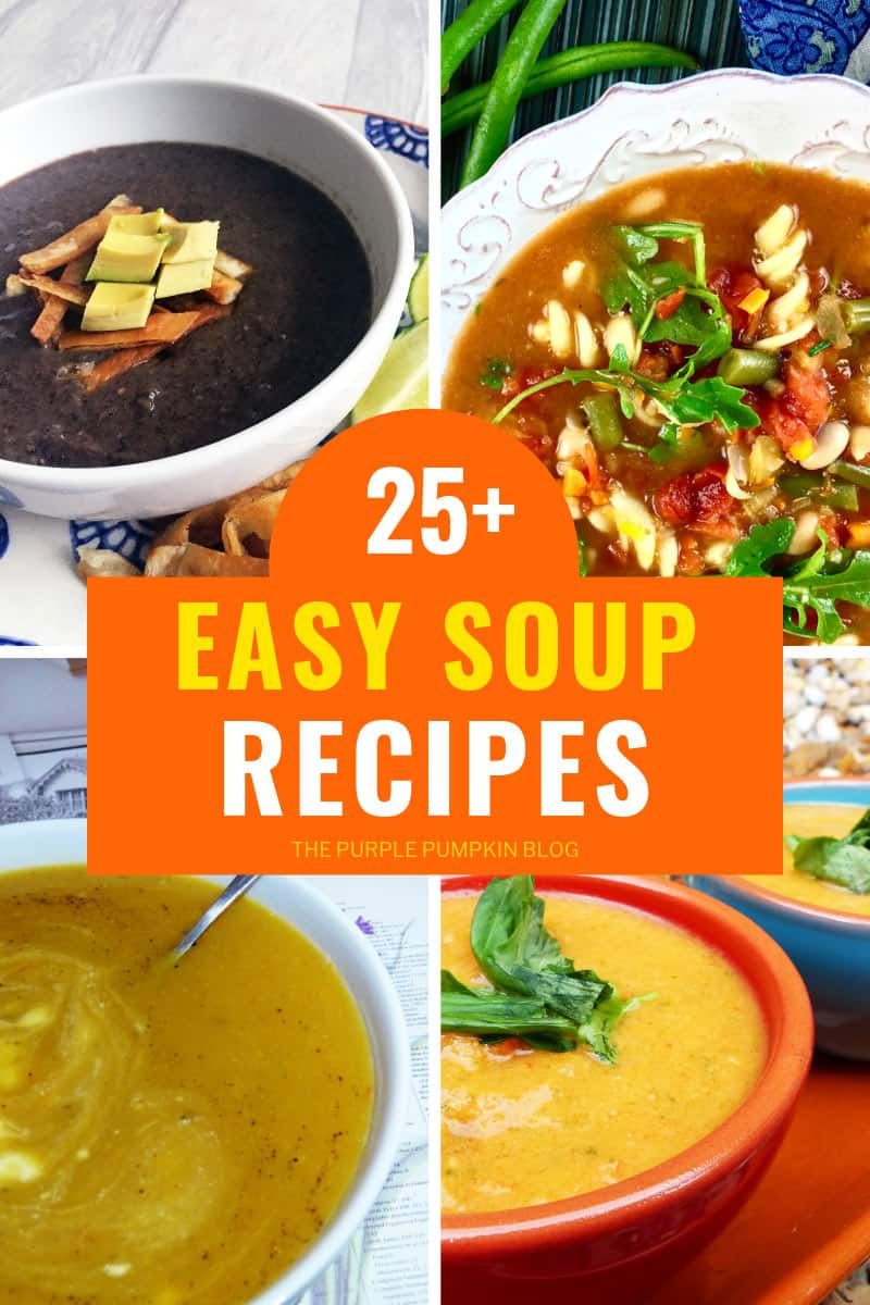 25+ Easy Soup Recipes