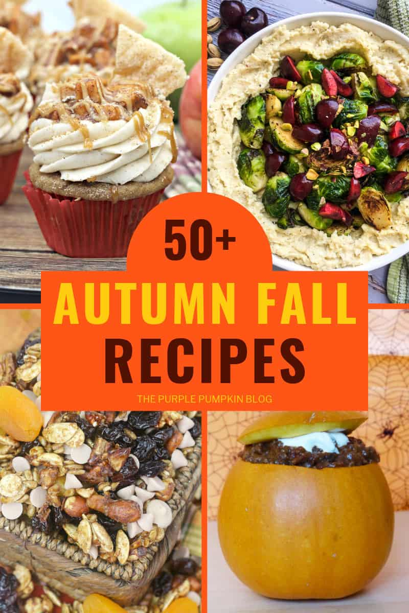 50+ Autumn Fall Recipes