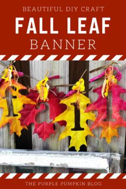Beautiful-DIY-Craft-Fall-Leaf-Banner