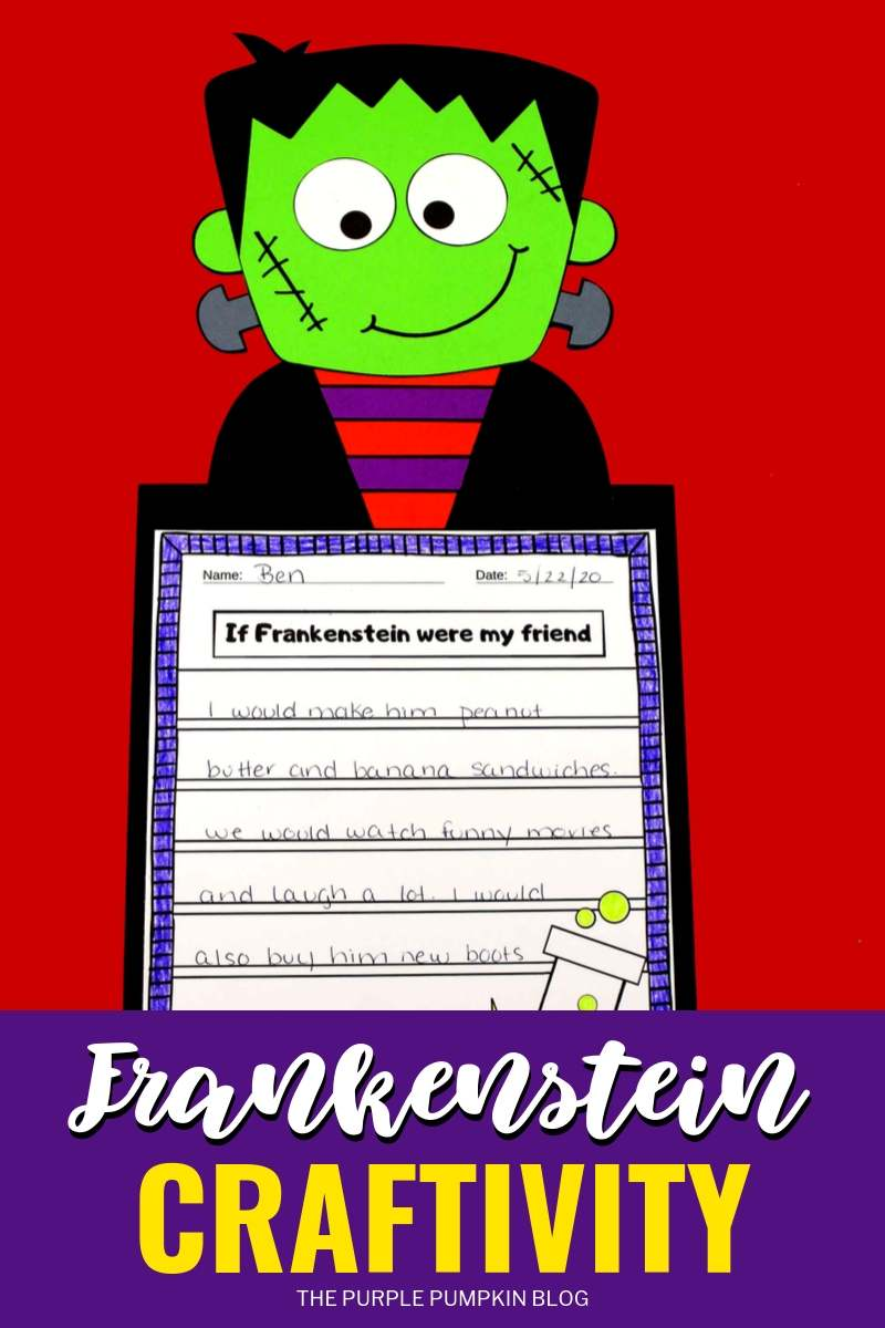 Frankenstein Craftivity