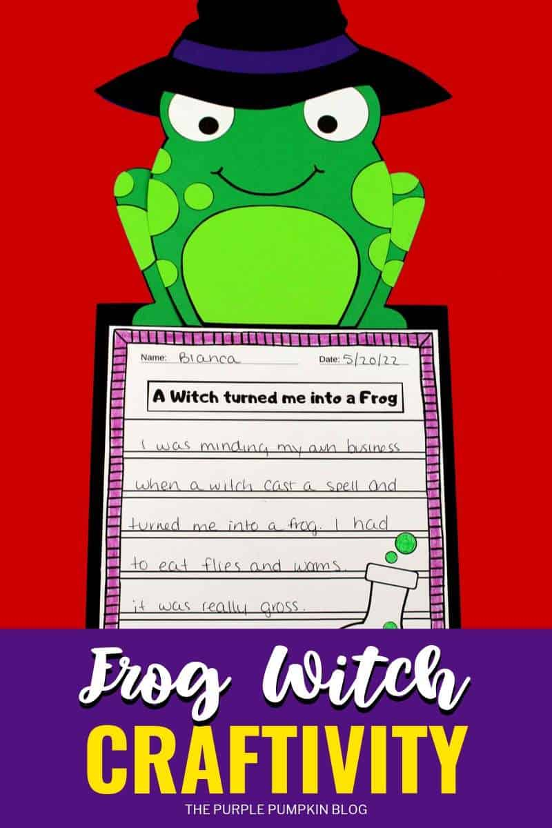 Frog Witch Craftivity