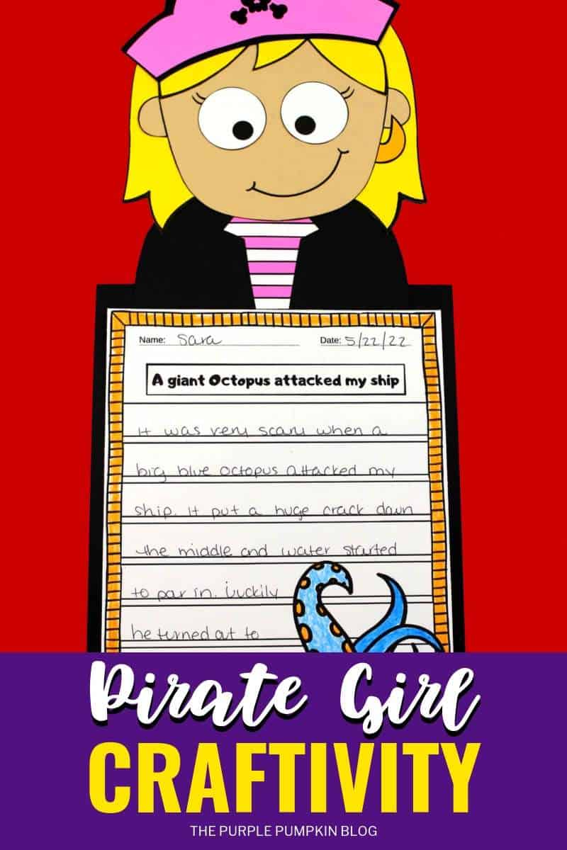 Pirate Girl Craftivity