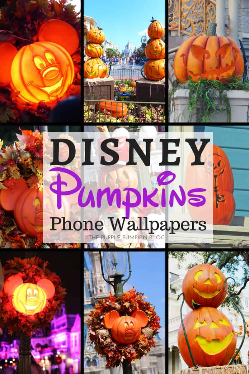 Disney Pumpkins Halloween Phone Wallpapers