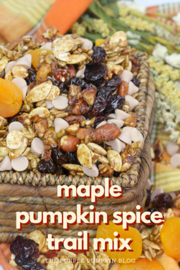 Maple Pumpkin Spice Trail Mix