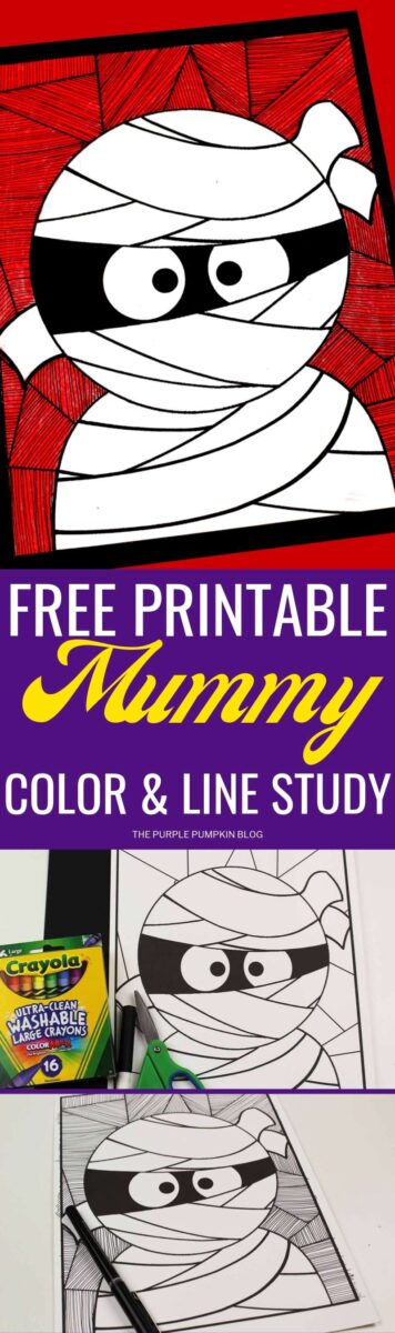Free Printable Mummy Coloring Sheet A Fun Halloween Activity For Kids