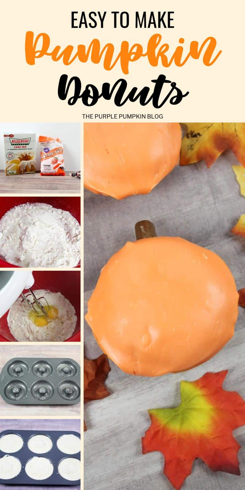 How to make pumpkin donuts