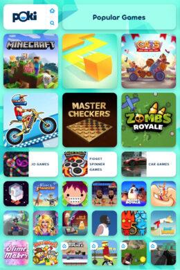 Popular Poki Games