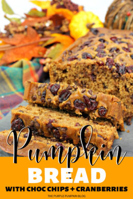 Pumpkin Bread with Choc Chips