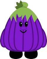 Petunia the Purple Pumpkin