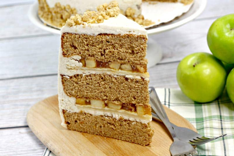 Slice of Apple Pie Layer Cake