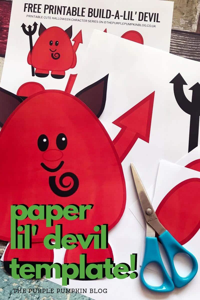 paper devil template