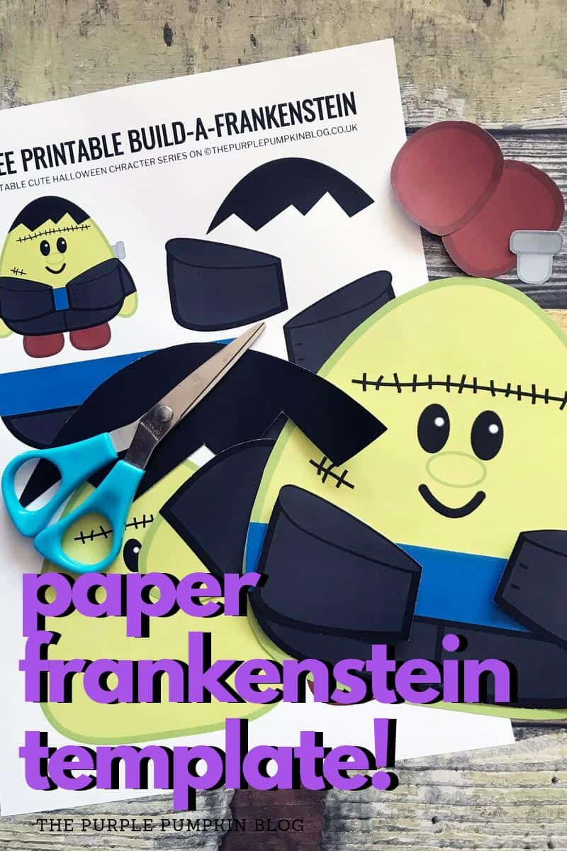 paper Frankenstein template