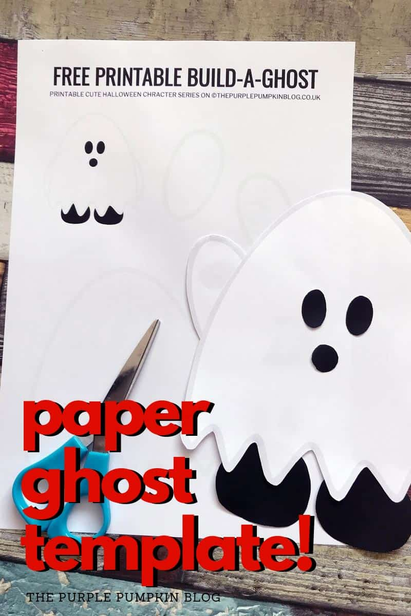 paper ghost template