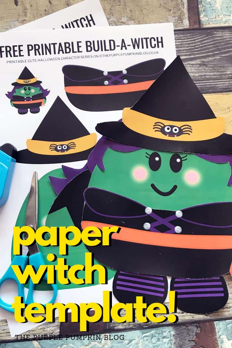 paper witch template
