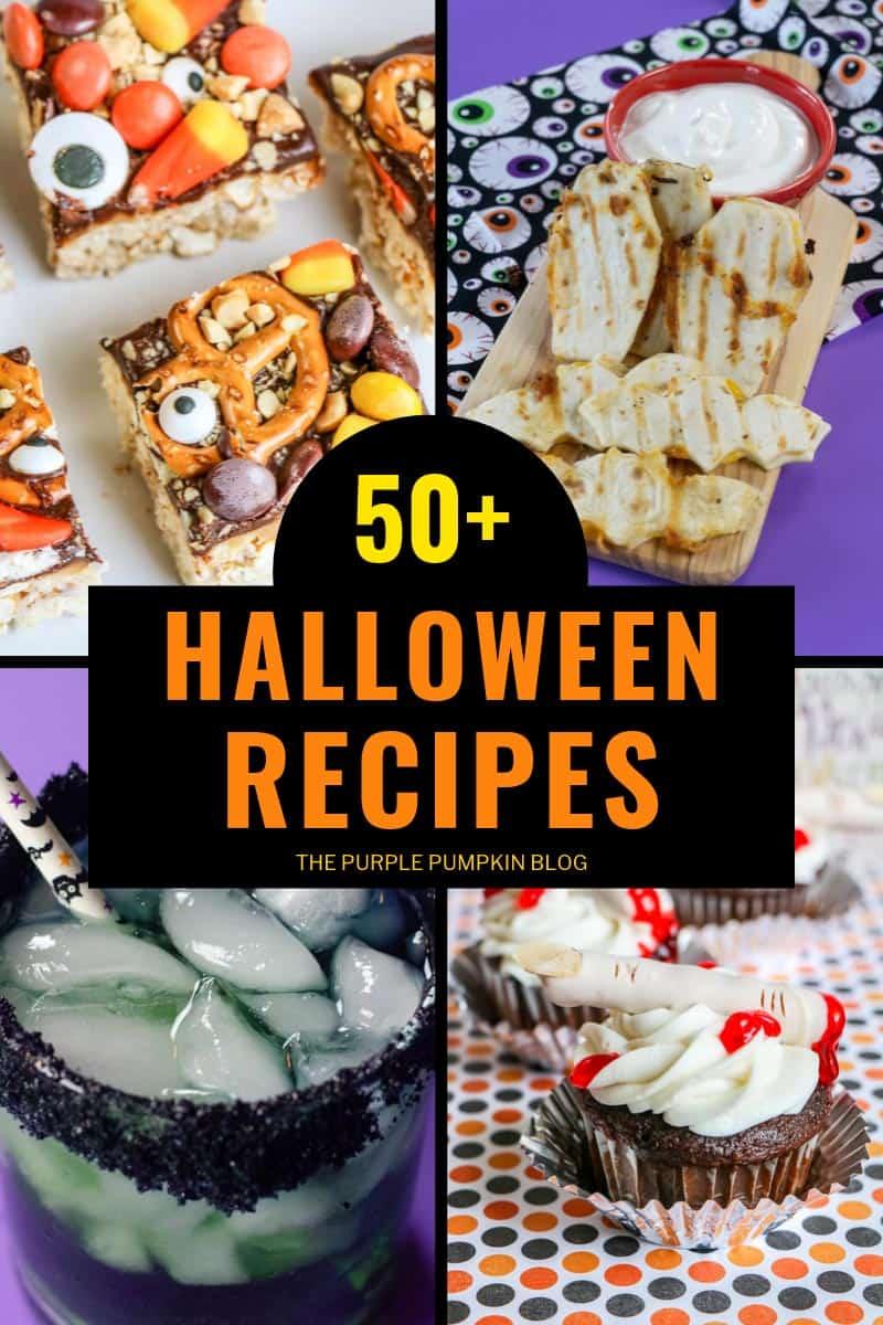 50+ Halloween Recipes