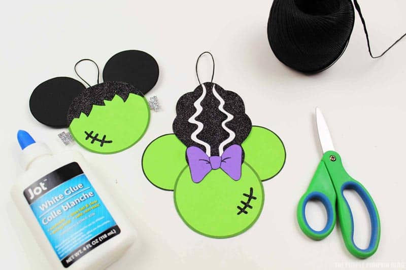Frankenstein Disney Ornaments