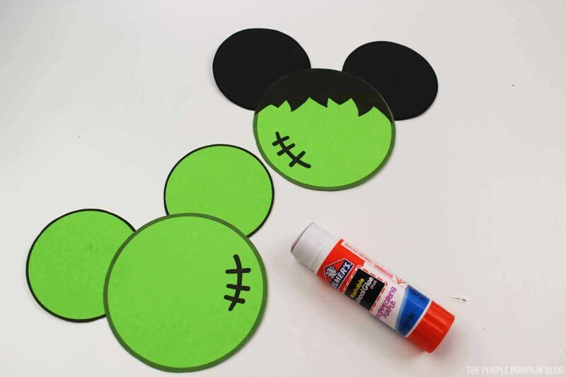 Mickey & Minnie Frankenstein Craft